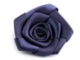 Rózsa kitűző - Kék