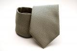 Prémium nyakkendő -  Sárga-fekete aprókockás