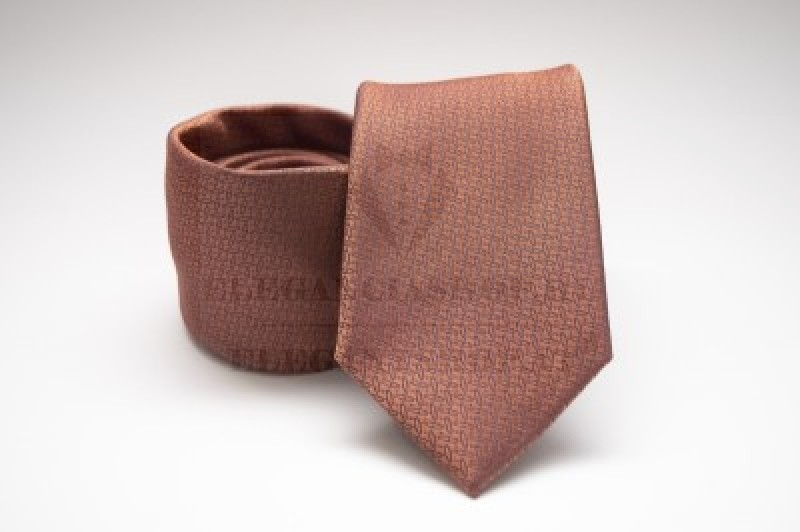 Prémium nyakkendő -  Karamell mintás Aprómintás nyakkendők