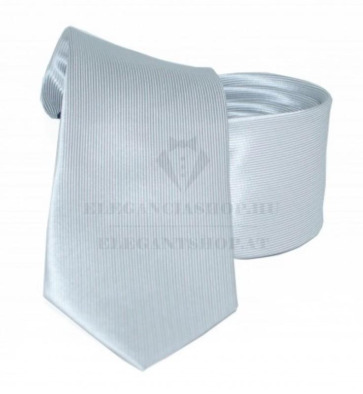 Goldenland slim nyakkendő - Ezüst Egyszínű nyakkendők