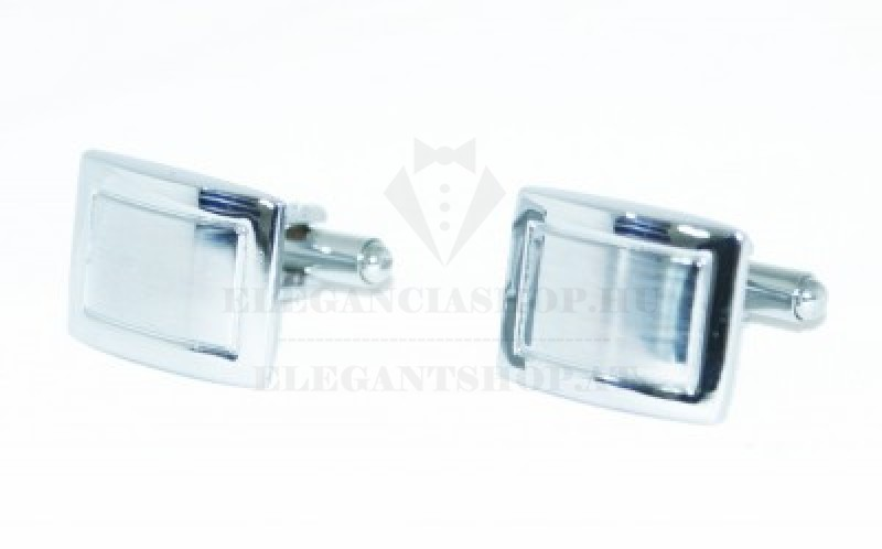 Mandzsetta gomb - Ezüst