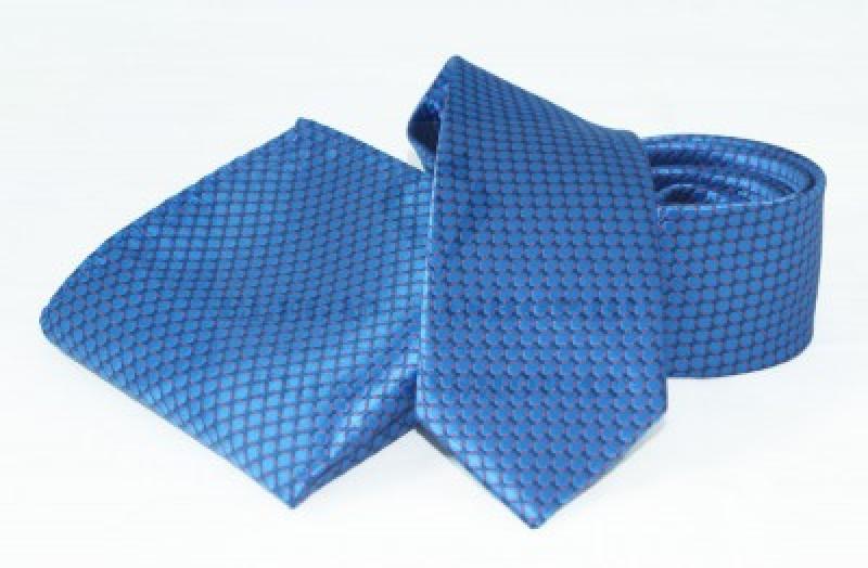 Goldenland nyakkendő szett - Kék aprómintás