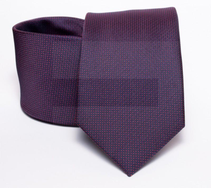 Prémium nyakkendő - Sötétlila Aprómintás nyakkendő