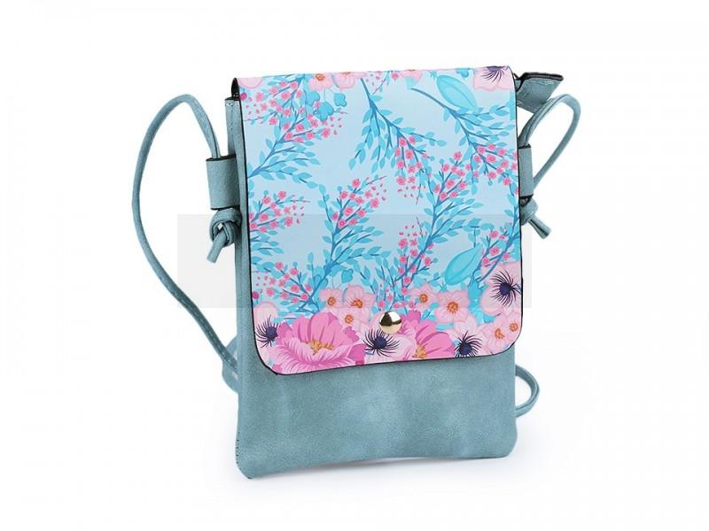 Kis női táska grafikával