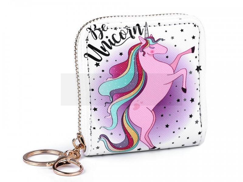 Kis gyerek pénztárca - Egyszarvú Gyerek táska, pénztárca
