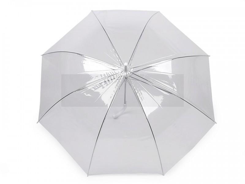 Női botfogantyús esernyő átlátszó
