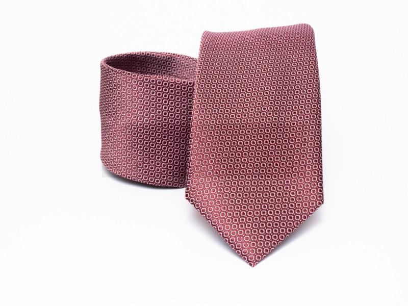 Prémium nyakkendő -  Lazac pöttyös Aprómintás nyakkendők
