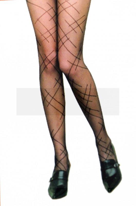 Rita mintás 20 DEN harisnyanadrág Női zokni, harisnya, pizsama