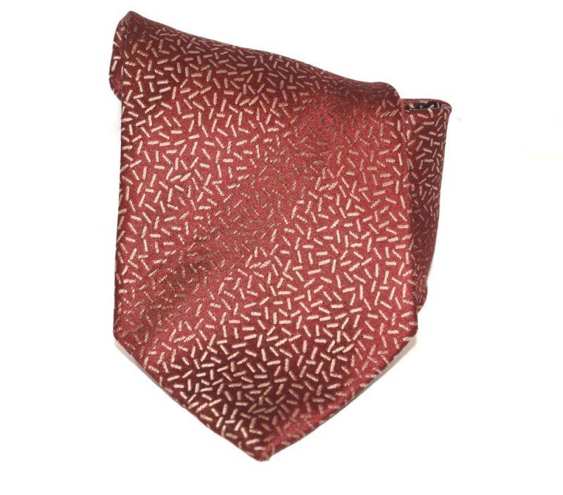 G.L selyemnyakkendő  - Bordó mintás