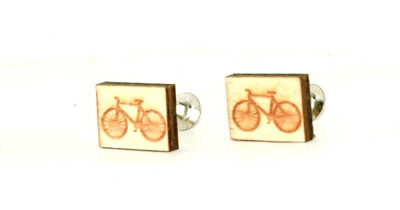 Fa mandzsetta gomb - Bicikli