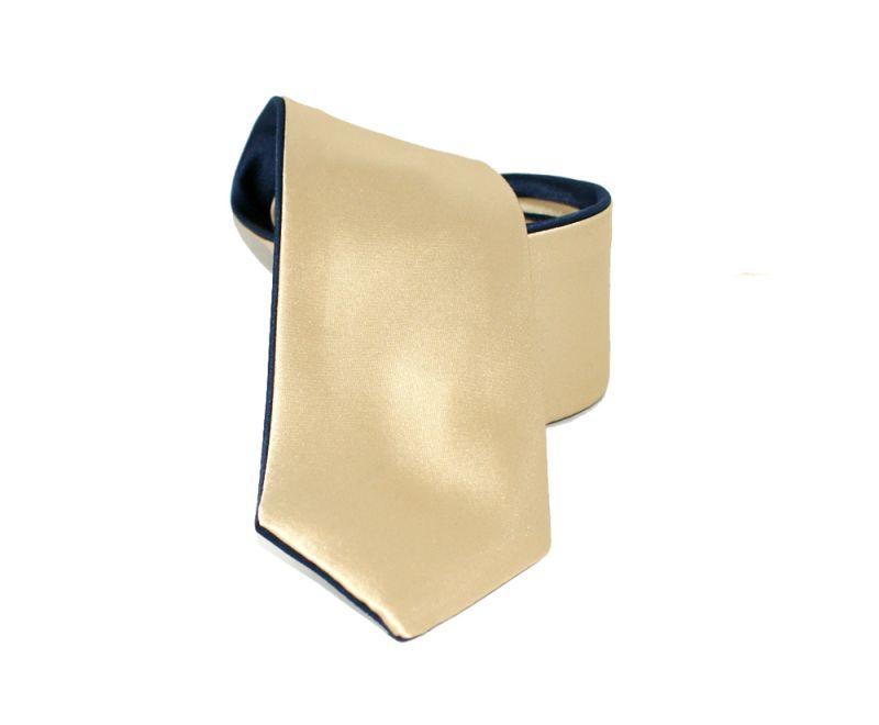 Goldenland 2in1 slim nyakkendő - Arany-sötétkék