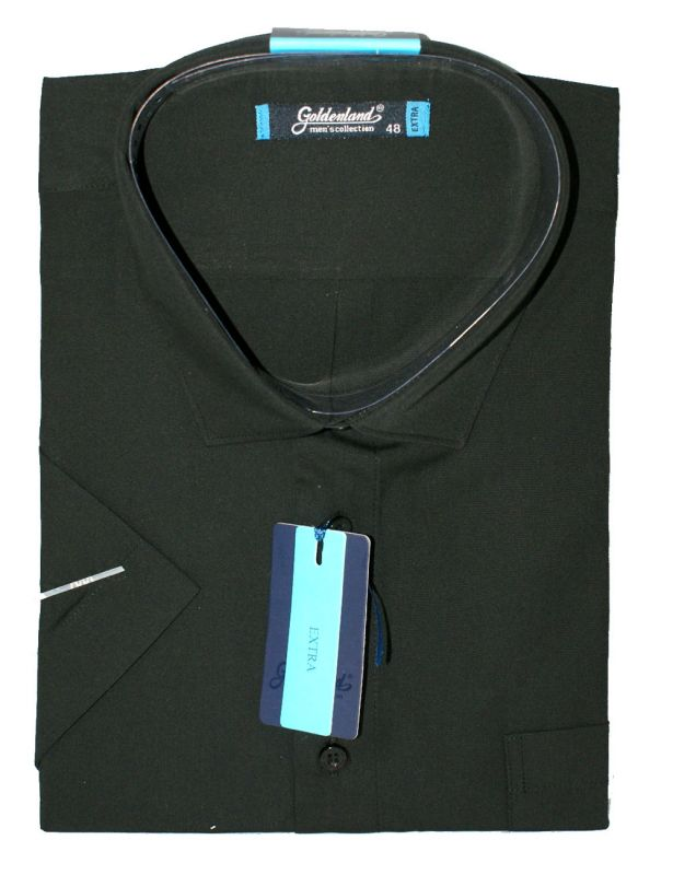 Goldenland extra rövidujjú ing - Fekete