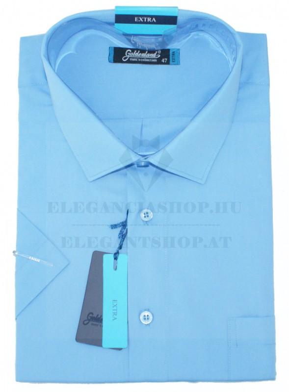 Goldenland extra rövidujjú ing - Kék