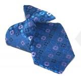 Gumis gyereknyakkendő (mini)  - Kék-lila mintás