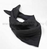 Nehézselyem női kendő - Fekete