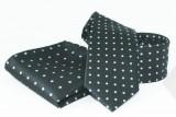 Goldenland nyakkendő szett - Fekete pöttyös