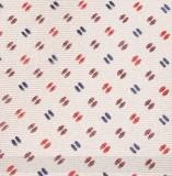 Prémium selyem nyakkendő - Púder aprómintás