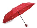 Női összecsukható kilövős esernyő