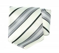Goldenland nyakkendő - Ezüst-fekete csíkos