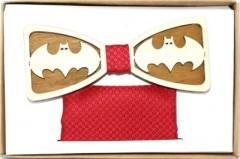 Fa csokornyakkendő szett - Batman Csokornyakkendők