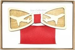 Fa csokornyakkendő szett - Repülő Csokornyakkendők