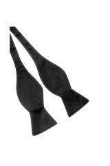 Köthető csokornyakkendő - Fekete Csokornyakkendők