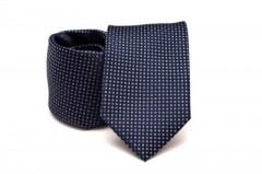 Prémium nyakkendő - Kék pöttyös