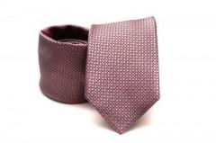 Prémium nyakkendő -  Ibolya pöttyös Aprómintás nyakkendők