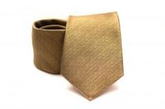 Prémium nyakkendő - Mustársárga Mintás nyakkendők