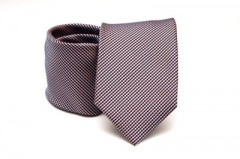 Prémium nyakkendő - Meggypiros aprópöttyös Aprómintás nyakkendők