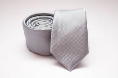 Prémium slim nyakkendő - Halványszürke