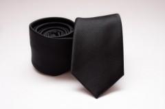 Prémium slim nyakkendő - Fekete