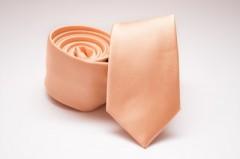 Prémium slim nyakkendő - Barack Egyszínű nyakkendő