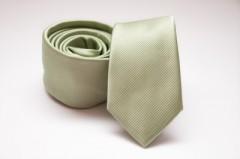 Prémium slim nyakkendő - Halványzöld