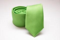 Prémium slim nyakkendő - Almazöld Egyszínű nyakkendők