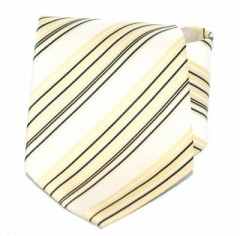 Goldenland nyakkendő - Aranysárga csíkos Akciós