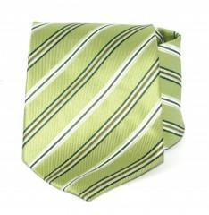 Goldenland nyakkendő - Almazöld csíkos