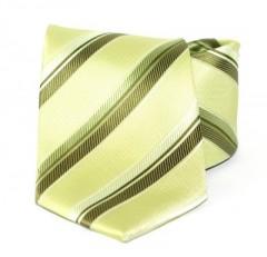 Goldenland nyakkendő - Zöld csíkos
