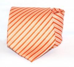 Goldenland nyakkendő - Narancs csíkos Csíkos nyakkendők