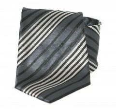 Goldenland nyakkendő - Grafit csíkos