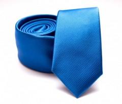 Prémium slim nyakkendő - Kék