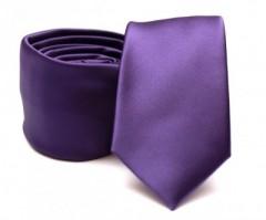 Prémium slim nyakkendő - Lila