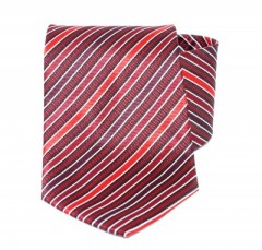 Goldenland nyakkendő - Meggypiros csíkos