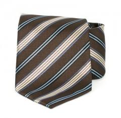 Goldenland nyakkendő - Sötétbarna csíkos