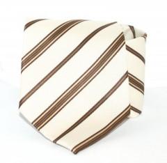 Goldenland nyakkendő - Drapp csíkos