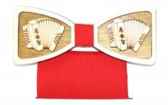 Fa csokornyakkendő szett - Harmonika Csokornyakkendők