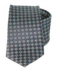 Exkluzív selyem nyakkendő - Szürke mintás