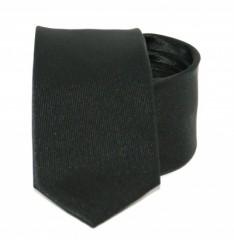 Goldenland slim nyakkendő - Fekete Egyszínű nyakkendők