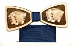 Fa csokornyakkendő szett - Harmónika Csokornyakkendők