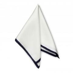 Gyászzsebkendő - Fekete-fehér Pamut zsebkendő